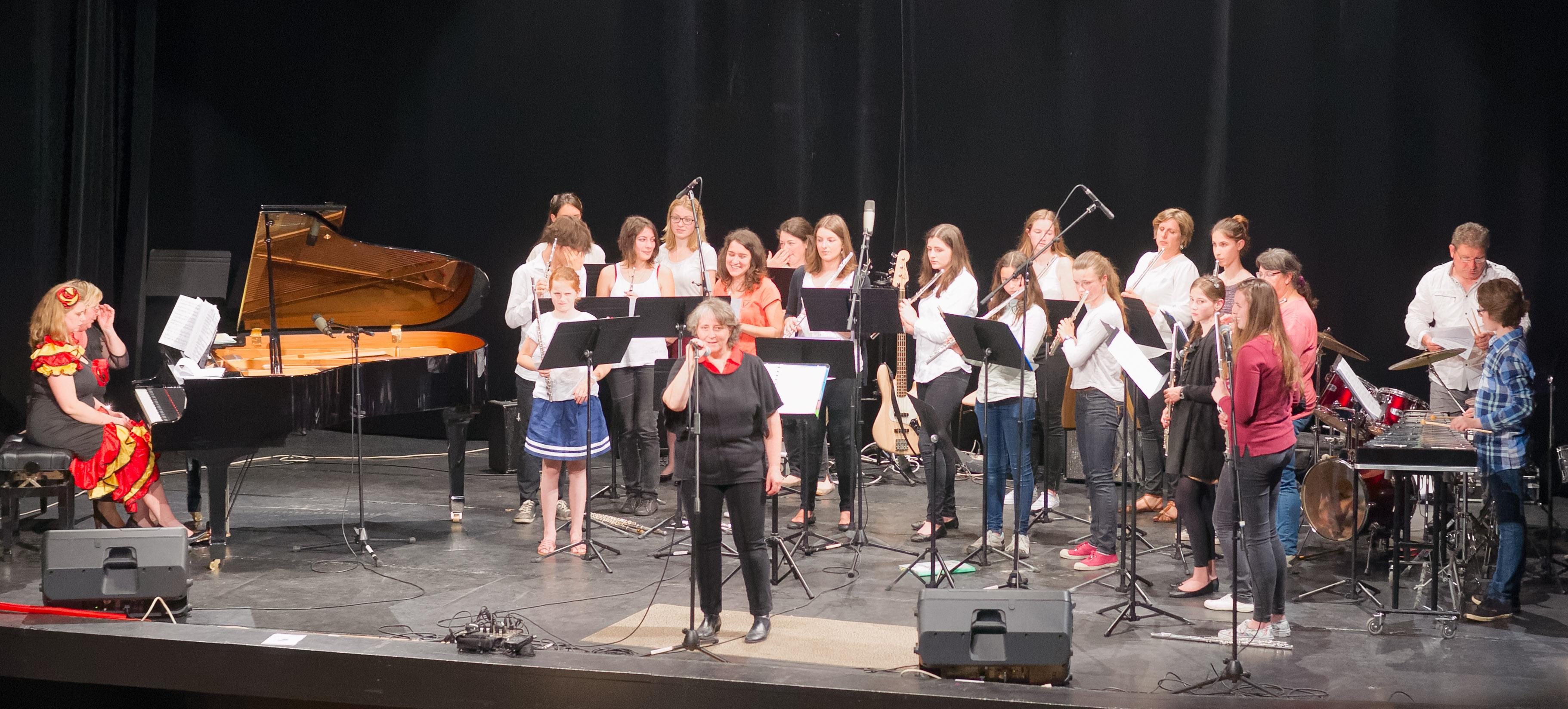 Audition fin d'année 2016 Ecole de Musique de Coutras