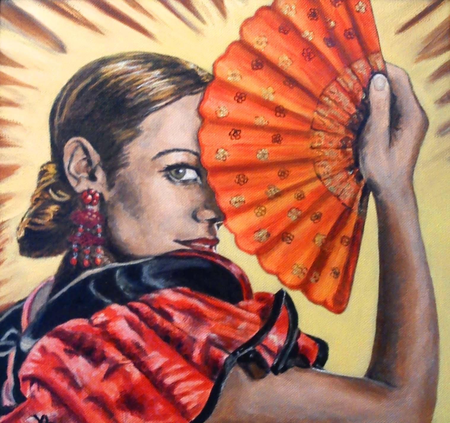 Peinture originale de Valérie Laforgue-Monnier